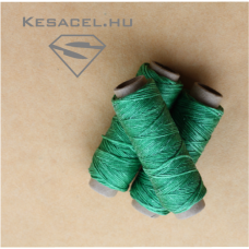Waxed thread green - Polyester 50m
