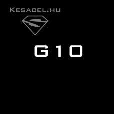 G10 - black - 6x40x125mm
