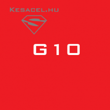 G10 - red - 6x40x125mm