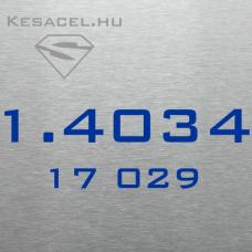 1.4034 4x100x500mm